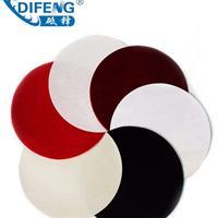 供应多种规格圆形带胶呢绒金相抛光布