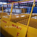 锦银丰厂家供应电梯井口安全门 电梯井口防护 施工电梯安全门