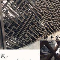 金属屏风制品厂批发长春不锈钢屏风,酒店会所隔断,中式花格!