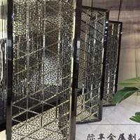 金属屏风制品厂批发济南不锈钢屏风,酒店会所隔断,中式花格!
