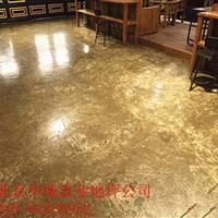复古地坪施工 适用于酒吧 宾馆的优质地坪 北京华城地坪