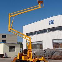 山东济南高空作业维修车曲臂式升降机移动式升降机