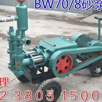 铜陵BW70/8双缸砂浆泵厂家