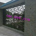 杭州厂家直销铝窗花 铝挂落 铝屏风 防护栏铝窗花
