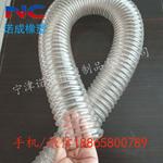 内蒙古抽吸炕灰软管pu钢丝伸缩通风除尘软管聚氨酯风管厂家