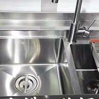 厨房橱柜不锈钢台面厂家批发 厨房用不锈钢台面价格
