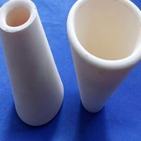 加工定制耐磨耐高溫錐形氧化鋁精密陶瓷結構件