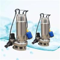 不锈钢耐腐蚀潜水泵 单相220V家用自动型VN750F/0.75KW立式水泵