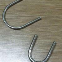 供应定制不锈钢卡圈 不锈钢U型螺栓 非标螺栓厂家 焊接螺母螺栓