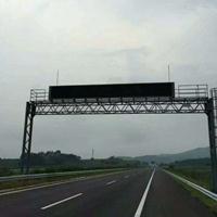 郑州高速公路p31.25龙门架式可变情报板厂家