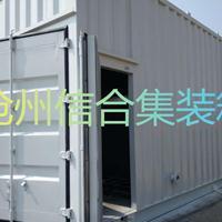 污水处理集装箱 水处理设备集装箱 信合集装箱厂家直供