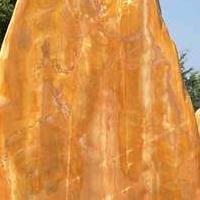 广东大型景观招牌石 各类园林景观石 刻字黄蜡石 英石假山造景