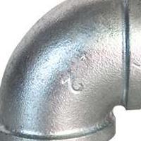 供应25玛钢镀锌弯头厂家直销消防水暖管件