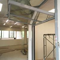供应上海/江苏/浙江 玻璃折叠门 电动上折叠门 安耐美专业打造