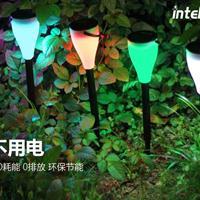 颖朗太阳能灯草坪灯庭院插地灯室外花园景观草地灯