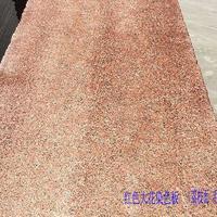 生产荔枝面雅典红毛板 河南染色红板大花2.5公分半成品 外墙干挂