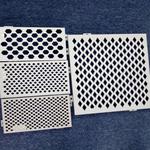 广西北海厂家热销2017工程热度版的低碳环保冲孔铝单板