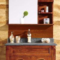 供应中吉智能整体卫浴实木浴室柜ZJ-23111