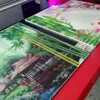 深圳 玻璃移门uv印花机打印的玻璃移门