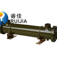 管壳式油水冷却器BS-526 油压机注塑机空压机用