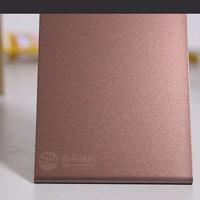 供应彩色不锈钢喷砂板  304咖啡红喷砂不锈钢板加工