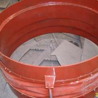 非金属柔性耐高温补偿器法兰连接烟风道膨胀节