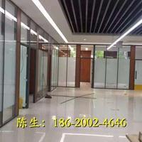 深圳哪里有做办公室玻璃加百叶帘隔墙的厂家