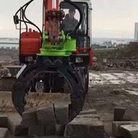 供应抓钢机扇贝斗挖掘机专用耙子