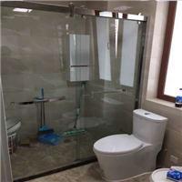 定制各式淋浴屏干湿分离隔断