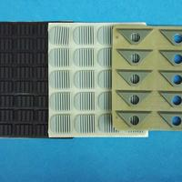 供应优质防滑硅胶脚垫 3M垫片专业厂家设计生产