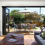 合肥阳光房安装重型折叠门有哪些特色