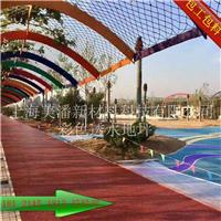 甘肃金昌彩色透水混凝土施工流程指导白银生态透水地坪