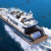 15.8米铝合金游艇,钓鱼游艇,私人游艇
