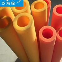 厂家批发黄色空心海绵管 优质黄色防护海绵套管