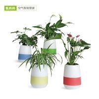 氧妈妈美肤e宝3A 小型桌面植物负离子空气净化器加湿制氧创意礼物