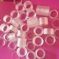 厂家直供白色PVC塑胶平垫  abs塑料直通柱 PET电机防火麦拉片