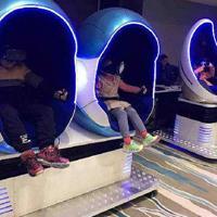 北京玻璃钢异型雕塑,VR蛋椅雕塑,烤漆雕塑