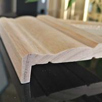 热销 实木贴木皮门套线,水曲柳,金丝柚