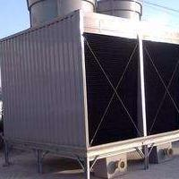 山东横流式冷却塔方形高温型HRT500高温节能型冷却塔