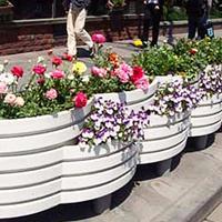 台州花箱厂家直销PVC花钵,支持定做花箱