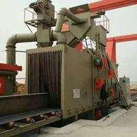 喷砂机厂家 佛山通过式大型抛丸机厂家 槽钢不锈钢表面处理喷砂机