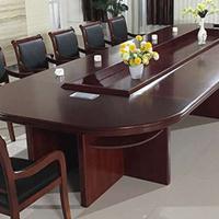 天津大小型会议桌、折叠培训桌、时尚条形简易会议长方形桌椅