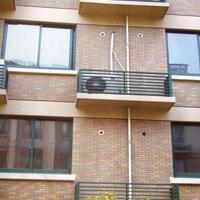 供应锌钢护栏 锌钢空调栏杆 空调外机护栏图片 空调百叶窗