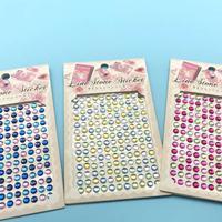 儿童钻石贴画diy手机亚克力汽车装饰水晶贴卡通手工彩色?水钻贴纸