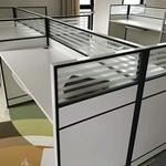 屏风隔断卡位,工位卡座,南昌办公桌子定制