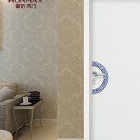 豪迈YH-4012永不脱落青花瓷彩绘室内卧室门