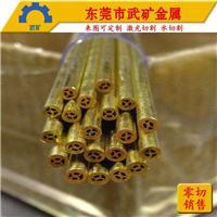 电极铜管厂 线切专用铜线 进口紫铜管 H65黄铜管 慢走丝打孔材料