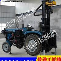 巨匠直销CJC200型拖拉机车载气动打井机 机动灵活高效