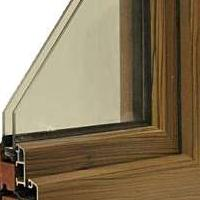 铝包木系列-96系列铝包木内外开窗