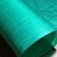 PE编织布 双面覆淡绿膜
